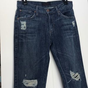 Women's Distressed James Jeans